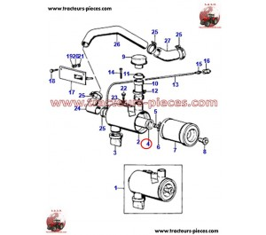 FILTRE A AIR SEC INTERIEUR ADAPTABLE MASSEY FERGUSON MF1698684M1