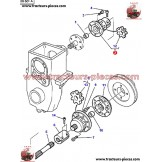 ACCOUPLEMENT TRANSMISSION PRISE DE FORCE AVANT MASSEY FERGUSON 3389825M1