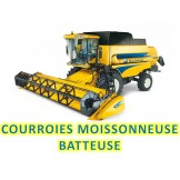 COURROIE MOISSONNEUSE BATTEUSE NEW HOLLAND NH80197411