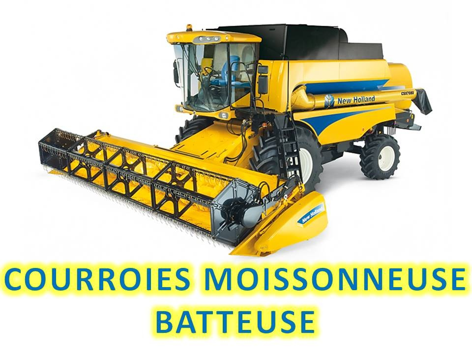 COURROIE MOISSONNEUSE BATTEUSE NEW HOLLAND NH80159837